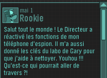Message de Rookie