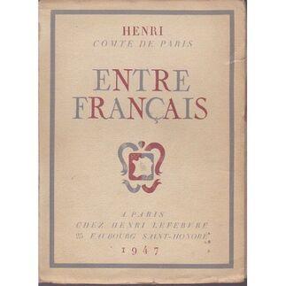 Bibliographie d'Henri, Comte de Paris