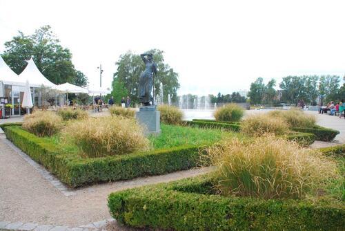 Le Jardin côté Allemand