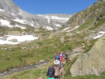 Vers le Col d'Aussois (2914 m)