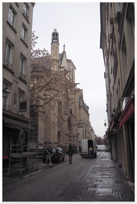Eglise Saint Merri. Paris