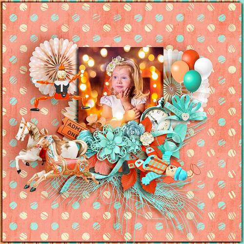 Around and Around by dentelle scrap