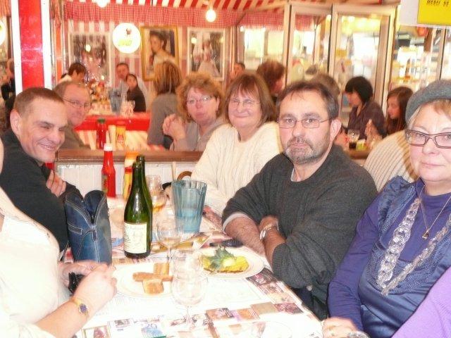 Le 2 novembre 2008, déjeuner à l'Ours Noir puis petit tour de manège...
