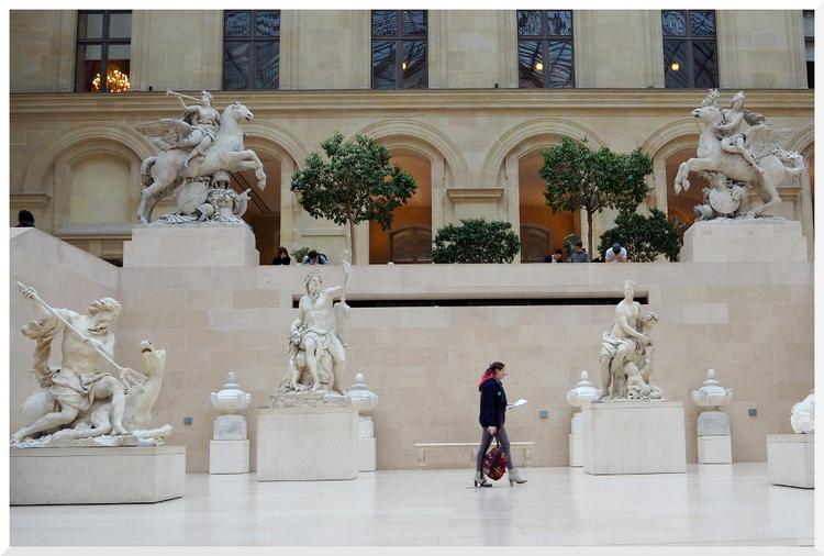 Musée Le Louvre en vrac...
