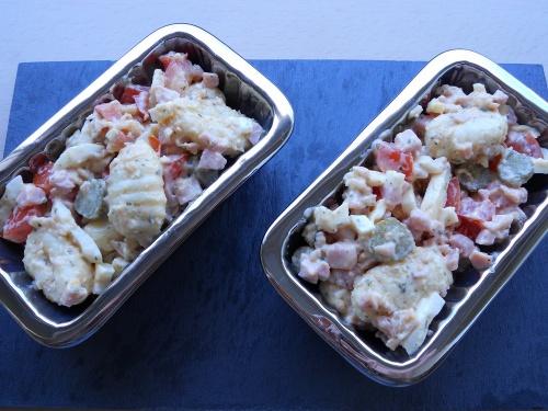Salade piémontaise aux gnocchis