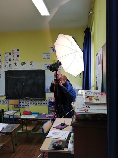 Un studio dans la classe