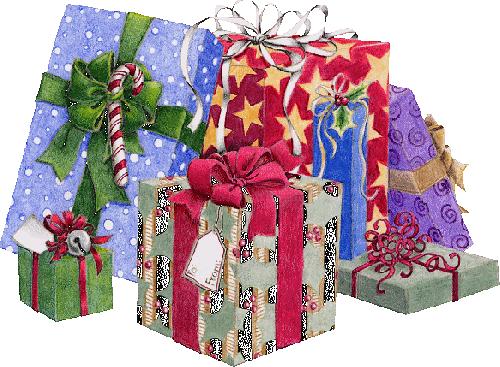 tubes noel / cadeaux et jouets