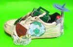 Le tour du monde en une chaussure