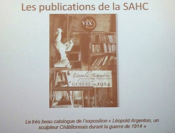 L'assemblée générale 2015 de la Société Archéologique et Historique du Châtillonnais