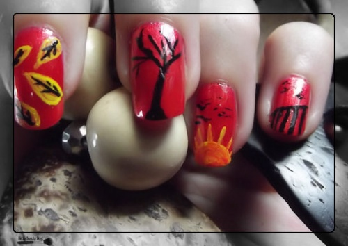 The sunday nail battle automne