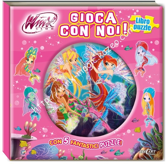 Livre puzzle Winx