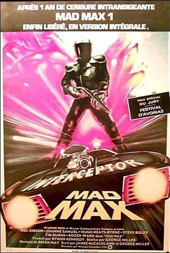 MAD-MAX BOX OFFICE FRANCE 1982