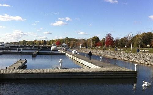 Le charme de Bronte harbour