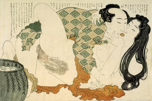 Avent 2014 - Jour 23 : Shunga, Hokusai