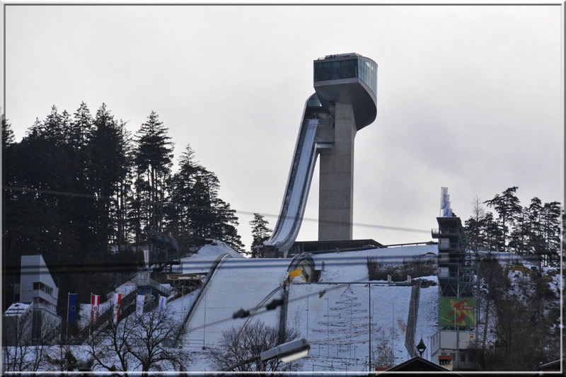 Innsbruck : le tremplin olympique de Bergisel