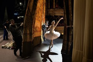 dance ballet before and aftes scenery ballet theatre