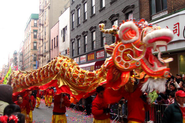 Nouvel An chinois à Chinatown