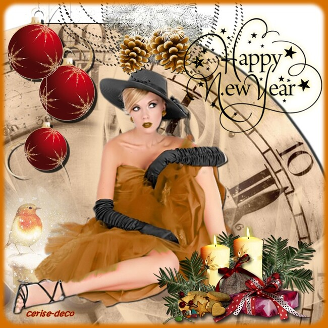 gifs pour le nouvel an : meilleurs voeux