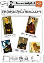 Fiche artiste - Modigliani