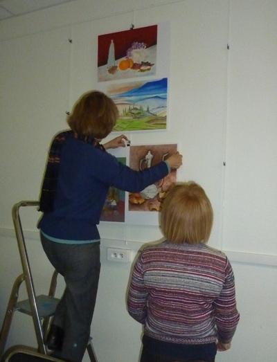 Expo photos de mon atelier dessin