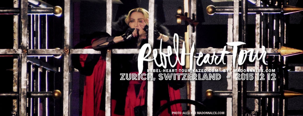 Madonna Rebel Heart Tour Zurich