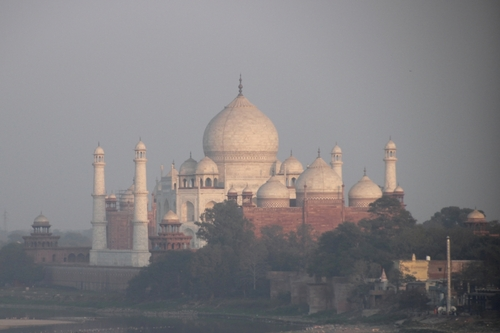 Agra, le fort rouge