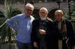 Assise, mai 1989, avec l'Abbé Pierre et Helder Camara
