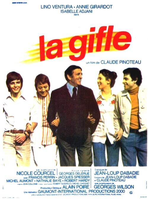 LA GIFLE - BOX OFFICE LINO VENTURA 1974