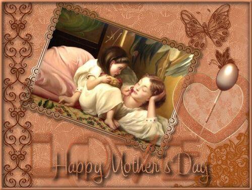 Bonne fête à toutes les Mamans.