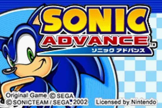 Sonic Advance s
