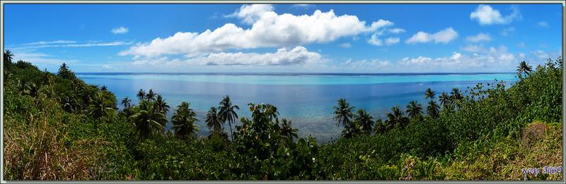 Panorama sur le lagon de Huahine - Polynésie française