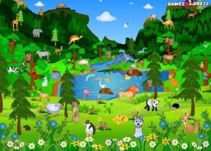 Wild animals - Hidden objects
