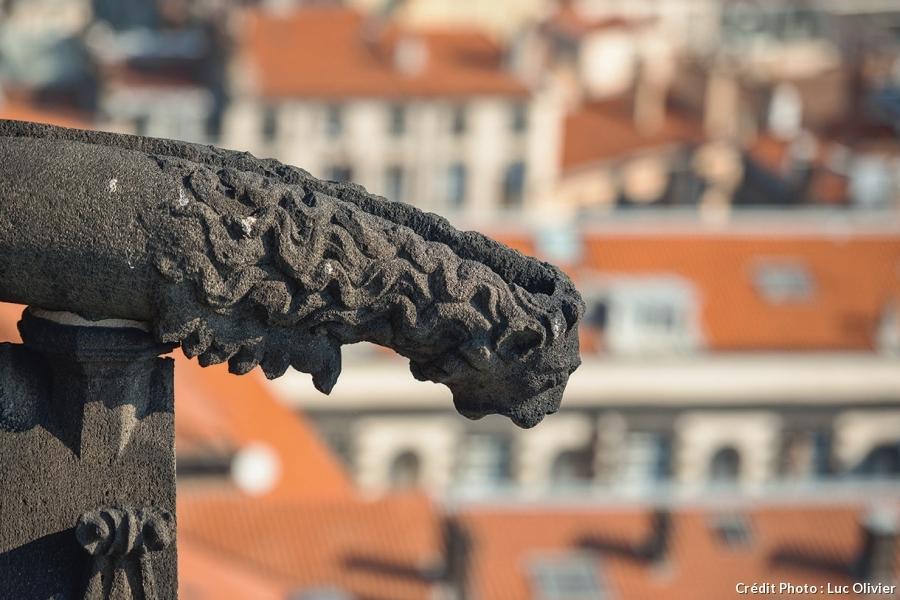 Gargouille de la cathédrale Notre-Dame-de-l'Assomption