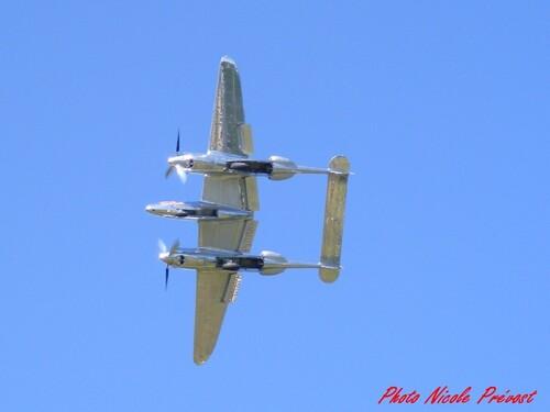 Le meeting aérien de la Ferté Alais  vu par Nicole Prévost, passionnée d'aviation...