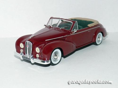 Hotchkiss Anthéor cabriolet 1953