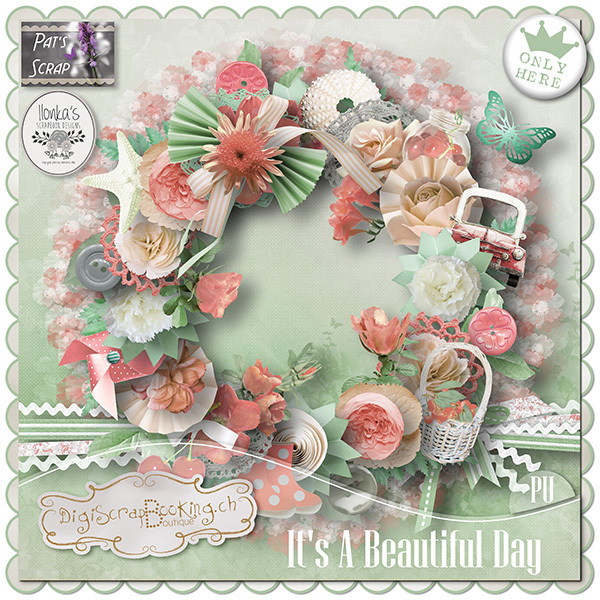 It's A Beautiful Day by Pat's Scrap and Ilonka