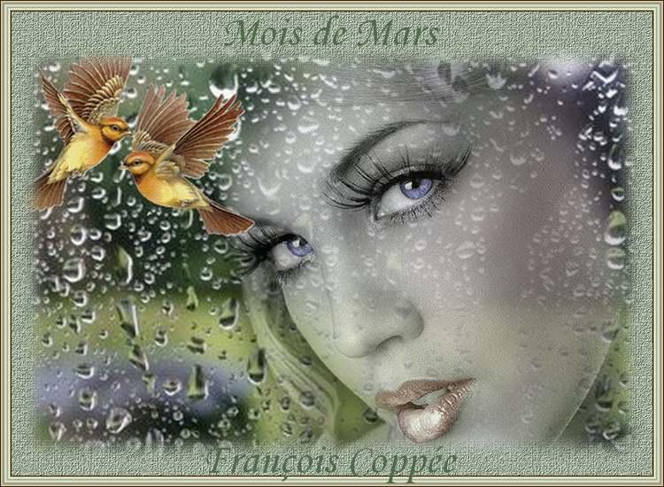 """"""" Mois de Mars """" poème de François Coppée"""