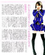 BOMB Sayumi Michishige Magazine April Avril 2013 Brainstorming/Kimi sae Ireba nani mo Iranai