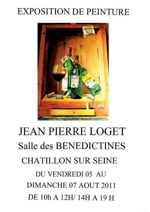 Jean-Pierre Loget expose ses trompe-l'Oeil salle des Bénédictines..