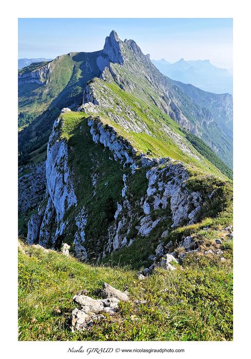 Ranc des Agnelons: Verticalité absolue en Vercors
