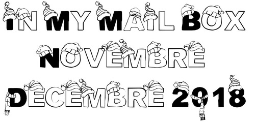 In My Mail Box - Novembre, Décembre 2018