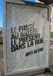affiche Citroën rétro musée