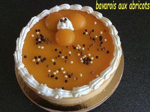 bavarois aux abricots