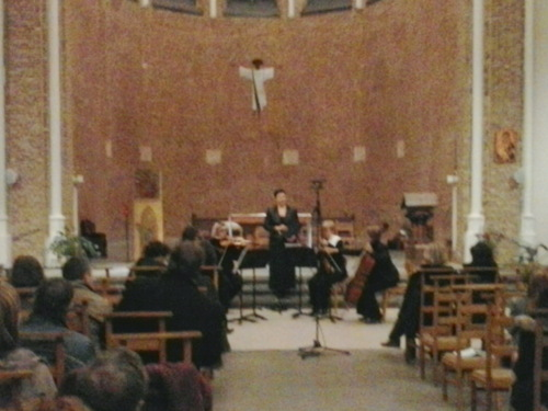 Concert du 26 mars 2014 à Ixelles - Quatuor  de l'OHP