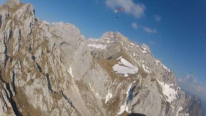 Sortie dans les Alpes du Nord 2iem Jour