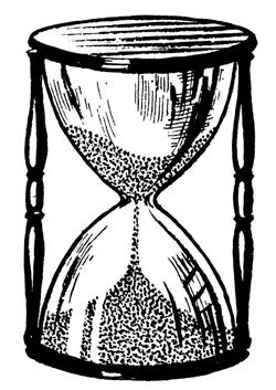 Le sablier du temps...