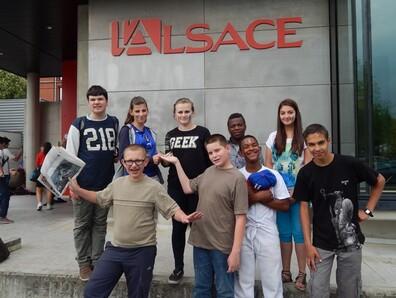 """""""Journal au collège"""" avec l'Alsace: 1er prix pour l'Ulis et les 4°2"""