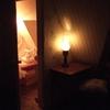 le petit bureau et sa lampe à pétrole: