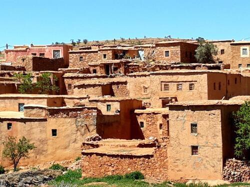 Des maisons en pisé ici que du traditionnel