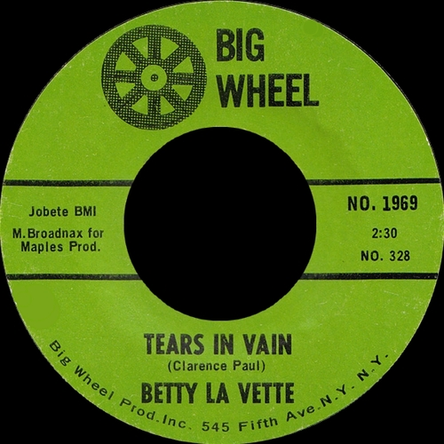 "Bettye Lavette : CD "" The Early Years Singles 1962-1968 Vol. 1 "" Soul Bag Records DP 27 [ FR ]"